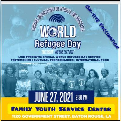 World Refugee Day banner